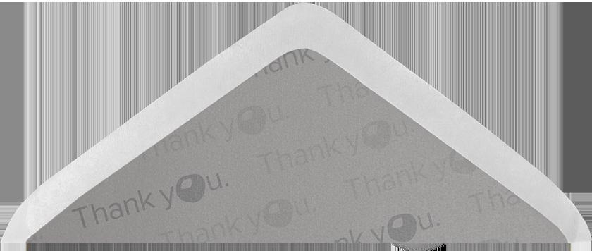 Envelope flap inside
